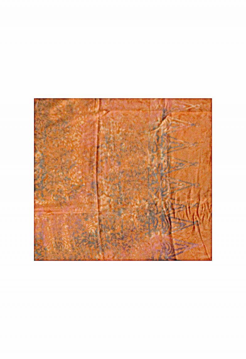 Sarong orange braun