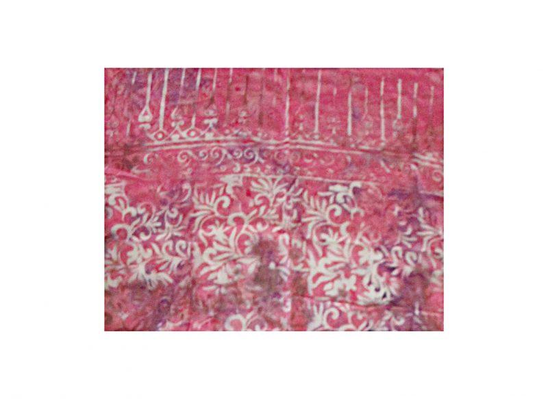 Sarong rosa mit weiß