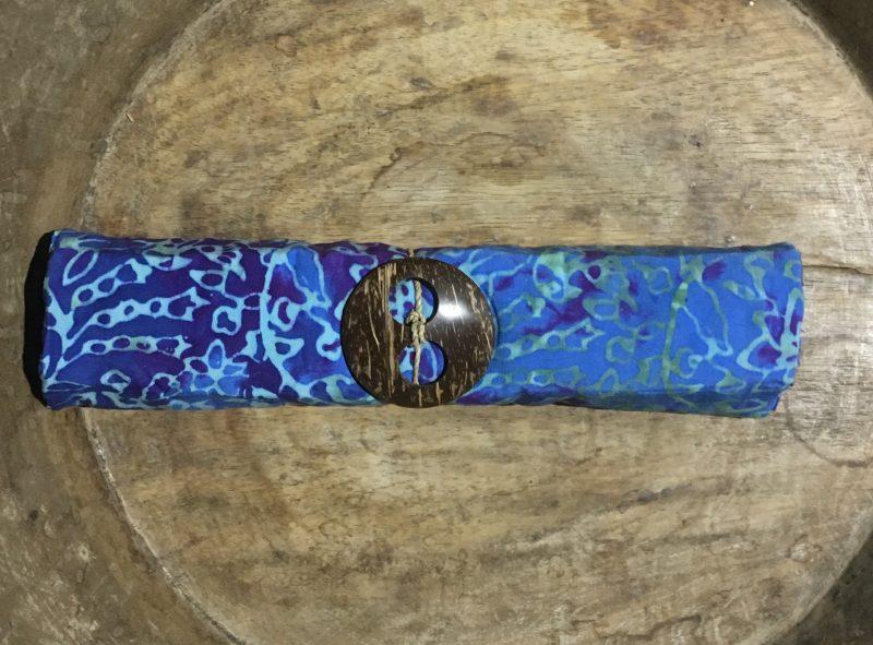 1-4033 verschiedene blau-Verläufe und Blumenornamente in grün-violett-türkis