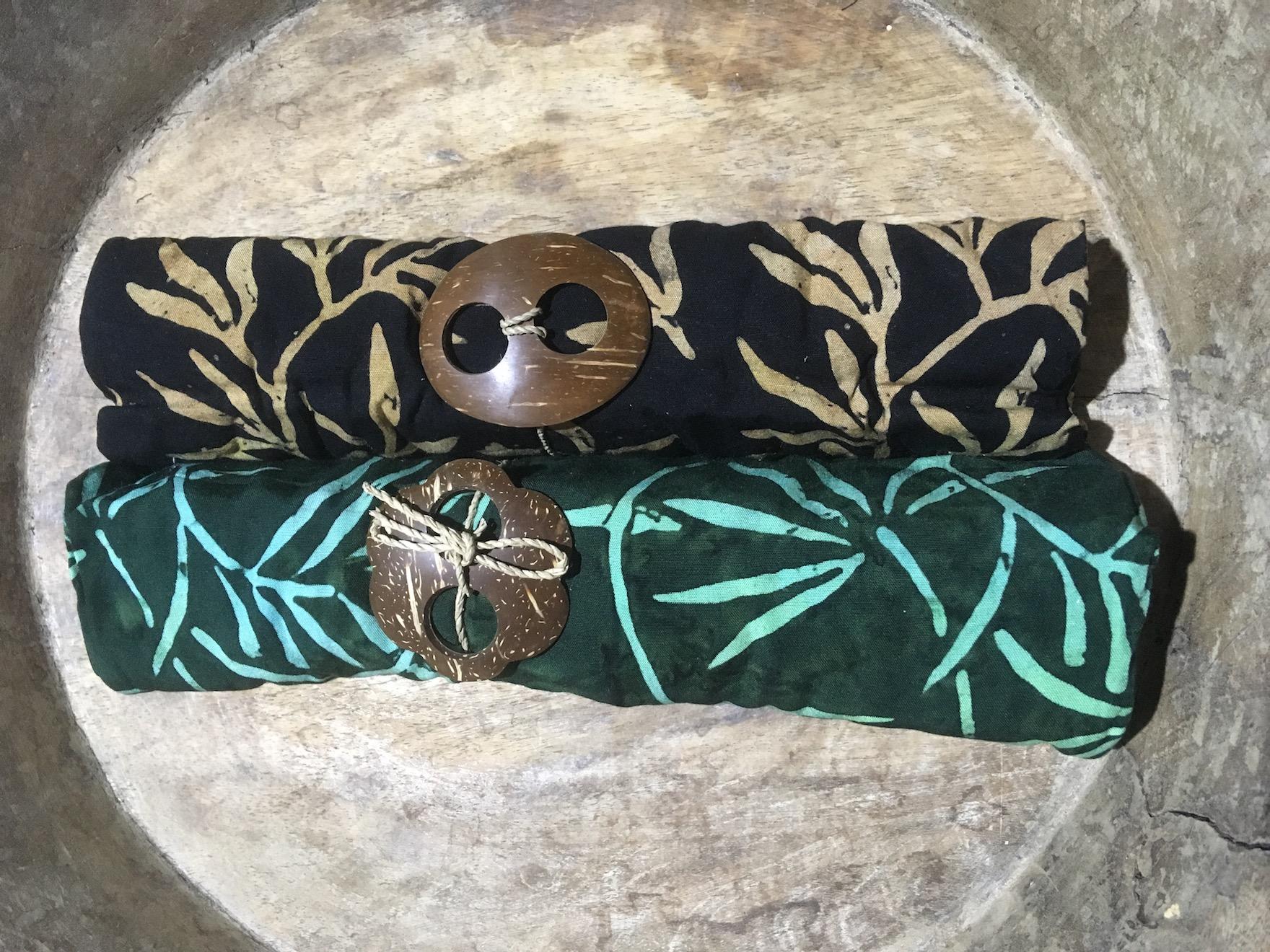 Zweier-Set Sapudi: Palmblätter 1-9943