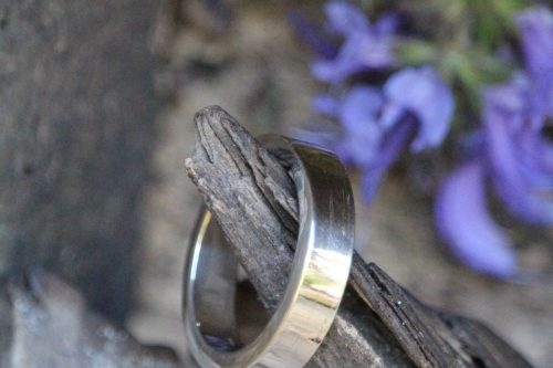 9-3704-1 Ring silber massiv kantig