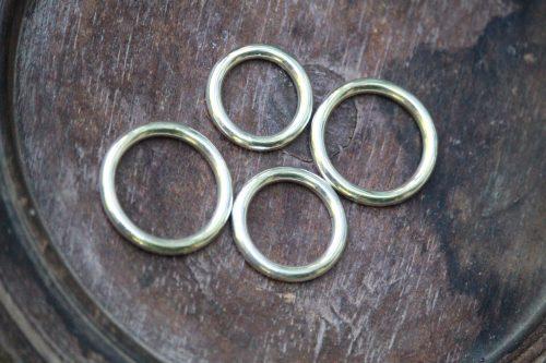 9-3705-1 Ring silber massiv rund