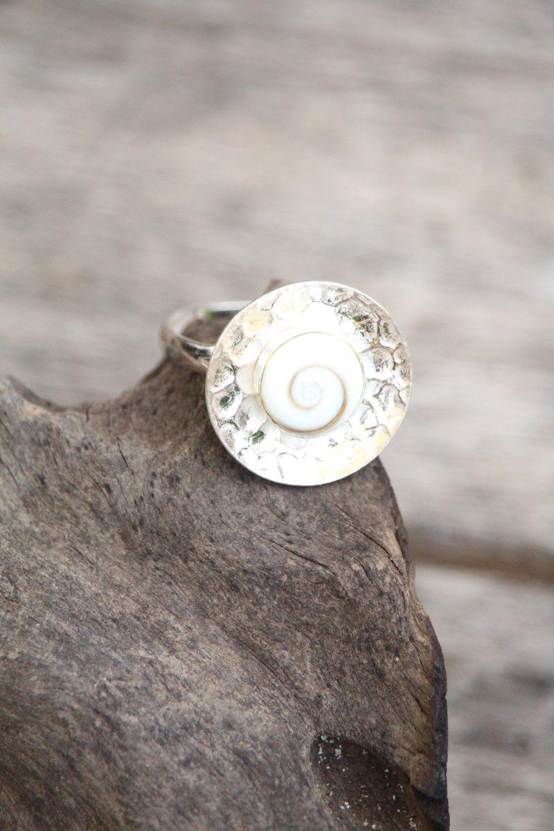 9-3708 Ring shiva silber Teller