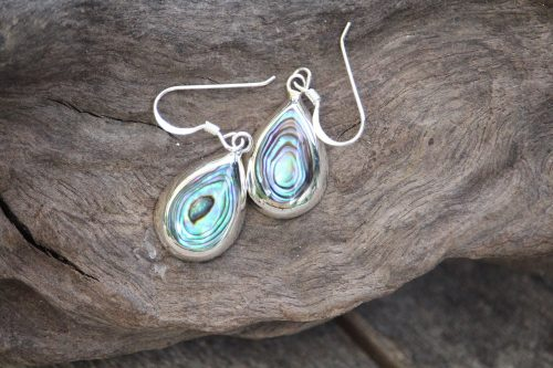 9-4509 Ohrringe abalony Tropfen